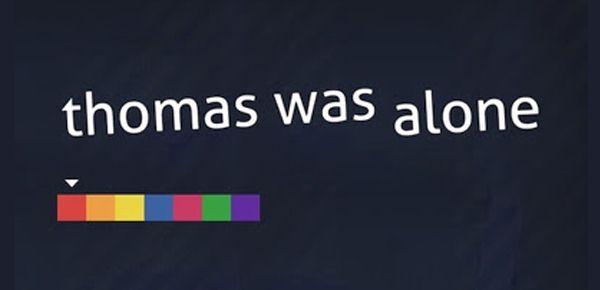 Thomas Was Alone en promo sur Steam