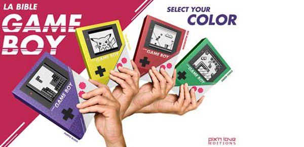 La bible Game Boy de Pix
