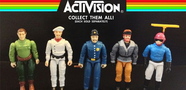 Les figurines Atari 2600 inédites de Chicago Toy Collector