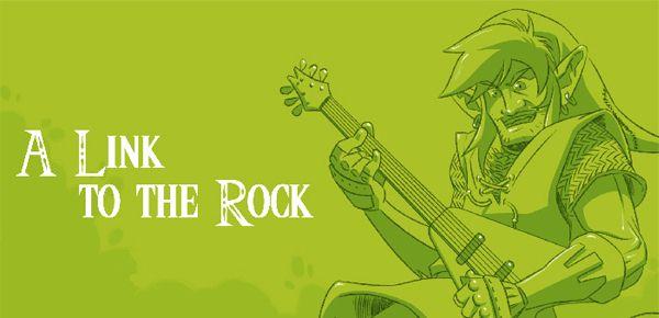 Zelda - A Link to the Rock par Jibé et Kopat