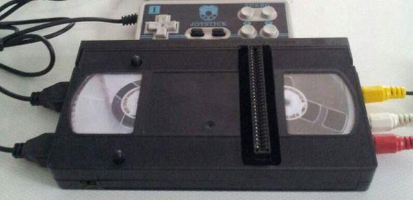 VideoTendo 2000 - une console NES dans une cassette VHS