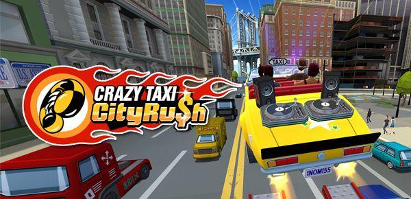 Sega redémarre son taxi jaune avec Crazy Taxi City Rush