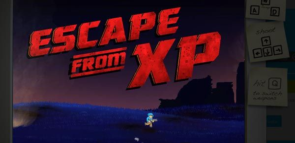 Escape from XP - Microsoft propose un jeu pour régler son compte à Windows XP