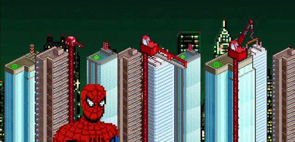 8-Bit Cinema - The Amazing Spider-Man le jeu retro