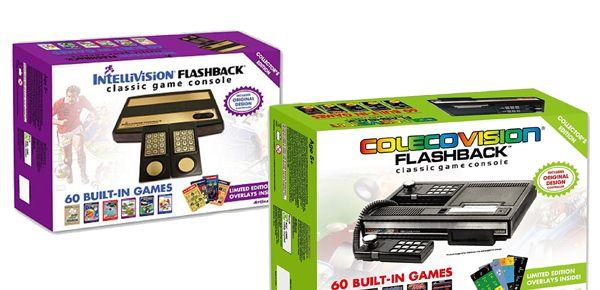 Intellivision et ColecoVision Flashback - consoles ou jouets ?
