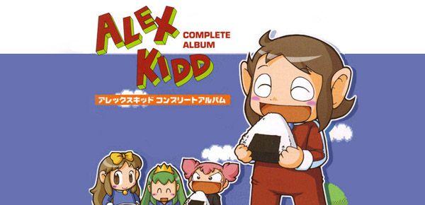 Alex Kidd Complete Album - le retour de la mascotte oubliée