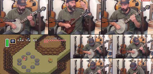 Zelda A Link to the Past au banjo par le vieux routard Banjo Guy Ollie