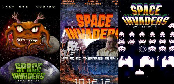 Un film Space Invaders - tu le crois ça ?