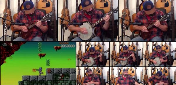 Le thème de Turrican 2 au banjo par Banjo Guy Ollie
