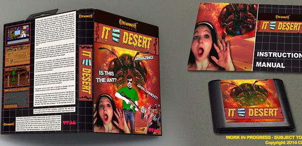 It Came From the Desert, The Action Game - un inédit pour la Sega Megadrive !