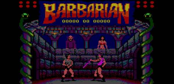 Le remake de Barbarian sur Sega Megadrive