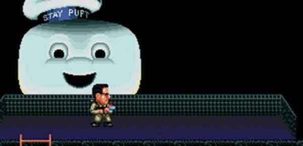 Grâce à un hack, la version Sega Megadrive de Ghostbusters reprend des couleurs