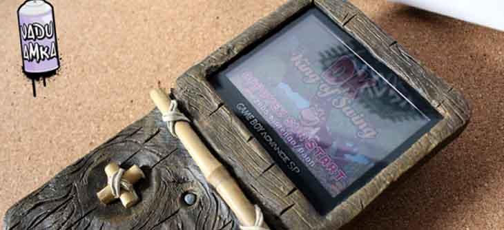 La Game Boy Advance Donkey Kong Country de Vadu Amka envoie du bois !