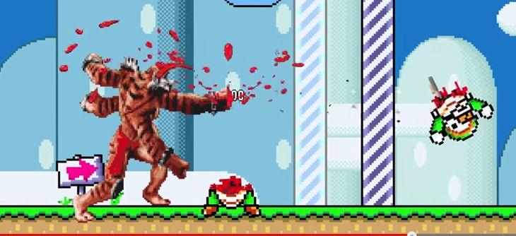 Super Mario Kombat - Mario et Mortal Kombat ne font plus qu