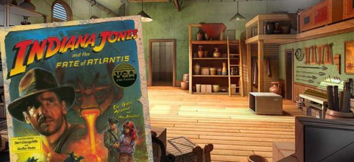Indiana Jones and the fate of Atlantis se fait refaire le portrait dans un remake