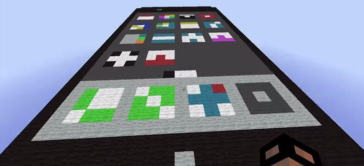 Il crée un Iphone fonctionnel dans Minecraft