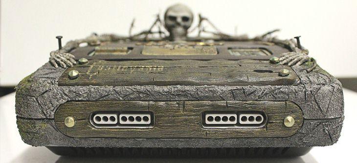 Super Nintendo Crypte Castlevania, le cénotaphe de l