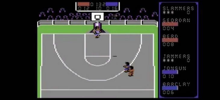 Jam it vient dunker sur C64 dans la plus pure tradition