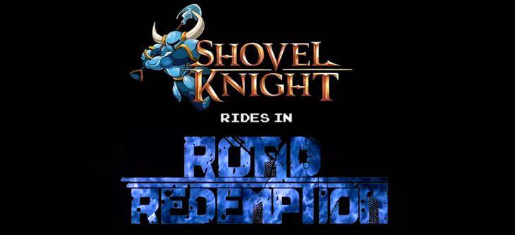 Crossover Road Redemption Shovel Knight - la pelle de la route
