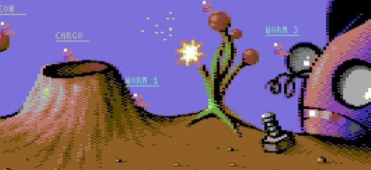 Grubz, le Worms du Commodore 64