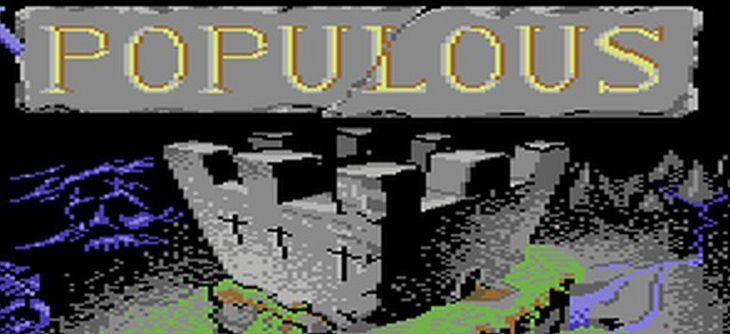 Oh my God ! Populous existe bien sur Commodore 64