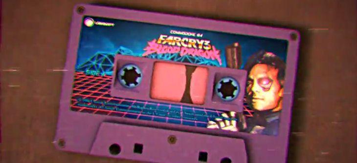 Far Cry 3 Blood Dragon tourne sur Commodore 64 comme une vieille VHS