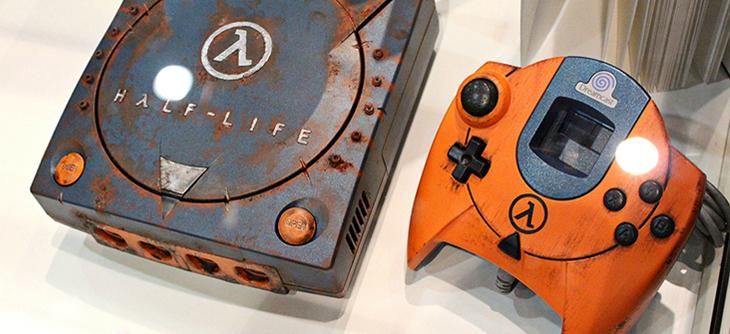 Avec cette Dreamcast Half Life, la dame blanche passe à l'orange