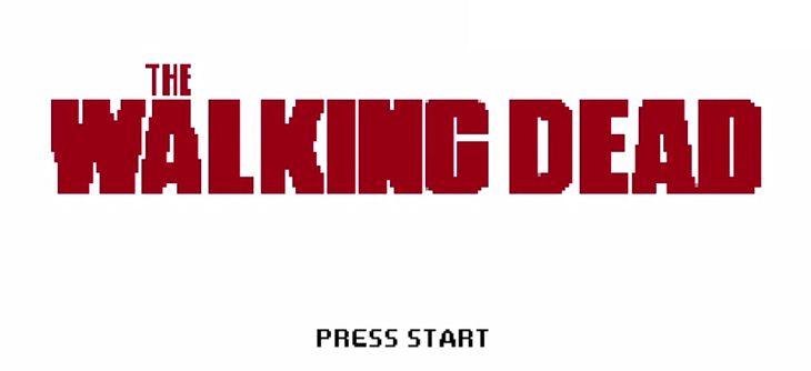 Les saisons 3 et 4 de The Walking Dead 8 bit