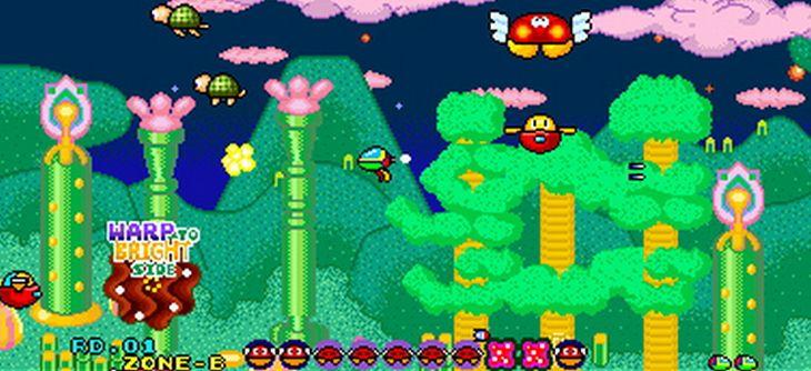3D Fantasy Zone II sur Nintendo 3DS
