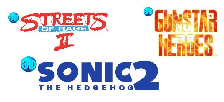 Les classiques en 3D de la SEGA MEGA DRIVE reviennent cet été sur Nintendo 3DS