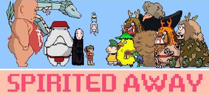 Une belle vidéo 8-Bit du Voyage de Chihiro d