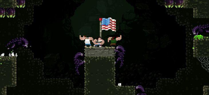 Broforce pétarade avec une mise à jour pour fêter le 4 juillet américain