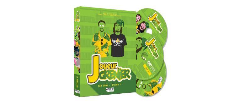 La Saison 2 du Joueur du Grenier bientôt disponible dans un coffret de 3 DVD