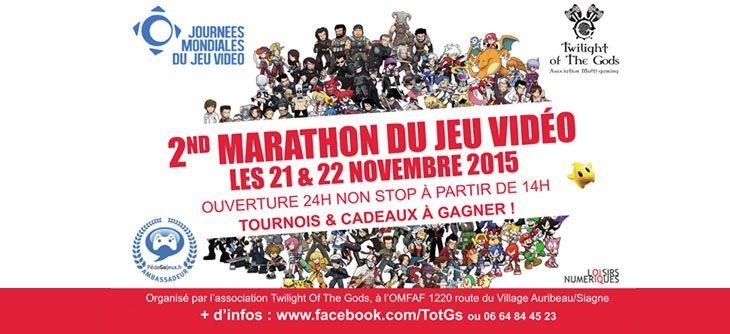 Pour les JMJV 2015, Twilight of the Gods organise un grand marathon jeux vidéo
