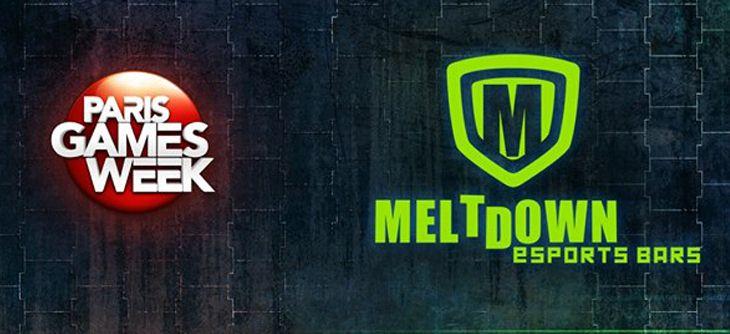 Le Meltdown sera à la Paris Games Week 2015