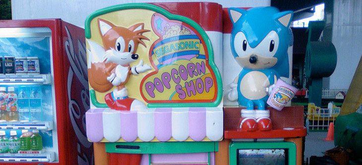 SegaSonic Popcorn Shop - quand Mame émule une machine à Popcorn Sonic et Tails