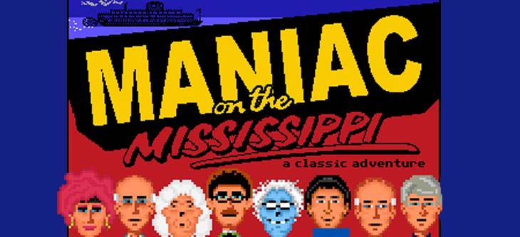 Maniac on the Mississippi - Maniac Mansion part en croisière