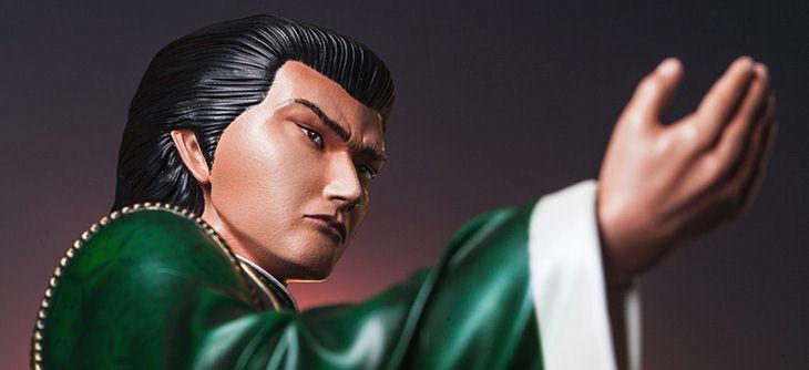 Shenmue - une statuette Lan Di belle et hors de prix