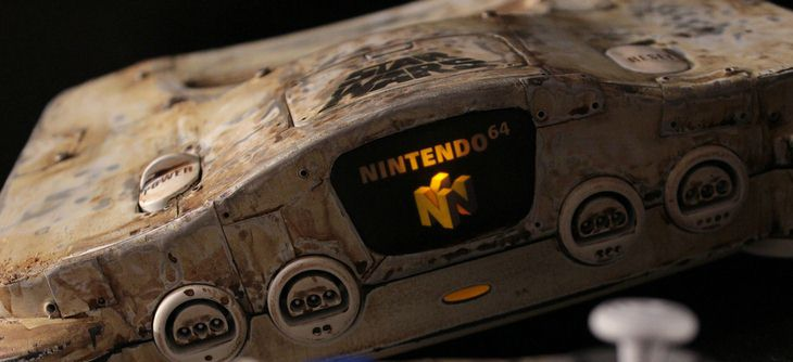 Custom Star Wars N64 - de Tatooine à Nintendo