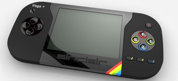 Sinclair ZX Spectrum Vega+ la console portable de Sir Clive Sinclair
