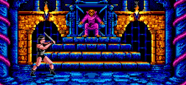 Barbarian en développement sur la Sega Master System