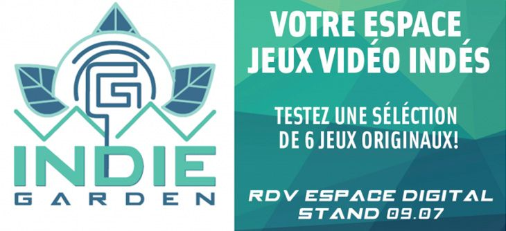 Indie Garden au Digital and Game Show de Strasbourg