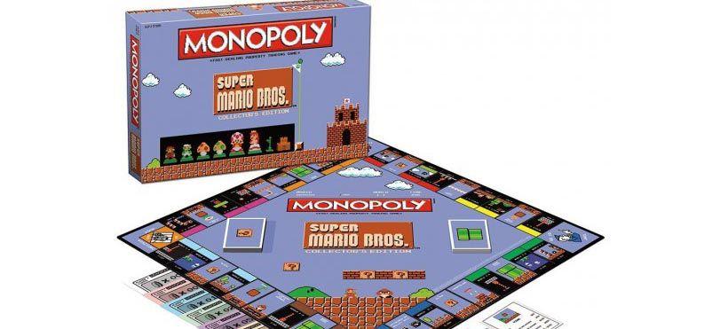 Un Monopoly aux couleurs de Super Mario Bros