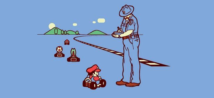 Mario Kart arrive sur Sega Dreamcast - mais que fait la police ?