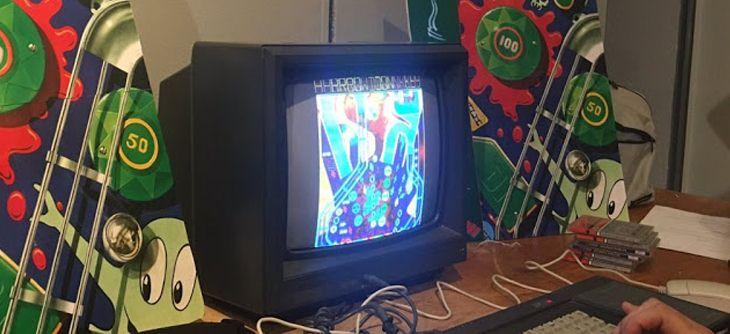 La version Amstrad CPC de Pinball Dreams s