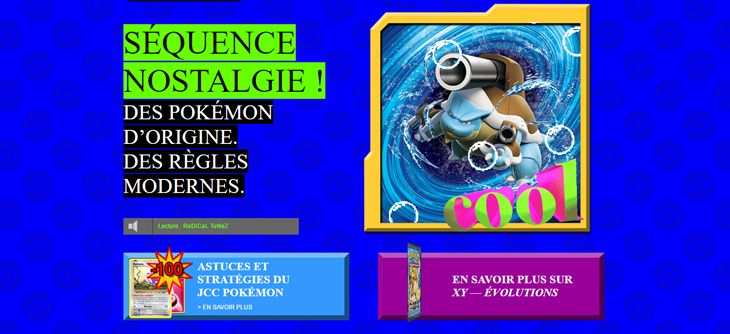 La fête des 20 ans de Pokémon continue avec un site web au look des années 90