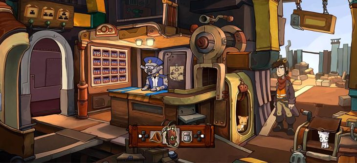 deponia de sortie sur ps4. Black Bedroom Furniture Sets. Home Design Ideas