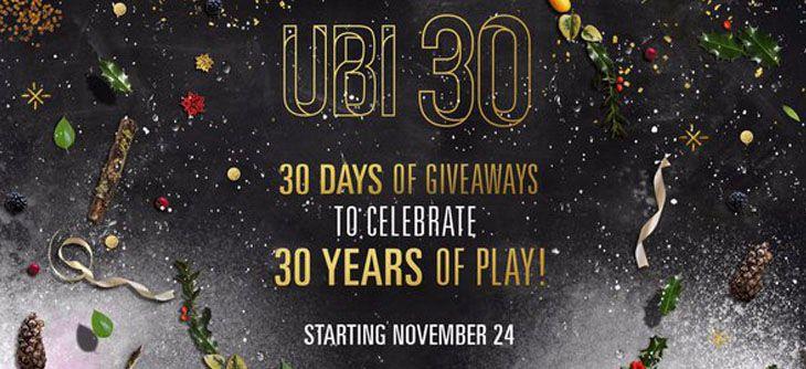 30 cadeaux pour les 30 ans d