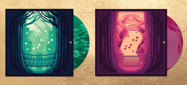 Deux vinyles pour Zelda : Ocarina of Time