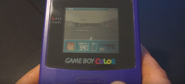 Wolfenstein 3D porté en douceur sur Game Boy Color !